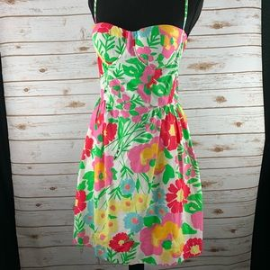 Lilly Pulitzer Garden by the Sea Bustier dress 6